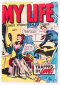 Golden Age (1938-1955):Romance, My Life #4 (Fox Features Syndicate, 1948) Condition: GD/VG....