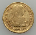 Colombia, Colombia: Charles III gold Escudo 1777 P-SF VG/F,...