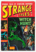 Golden Age (1938-1955):Horror, Strange Tales #18 (Atlas, 1953) Condition: VG....
