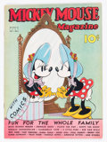 Platinum Age (1897-1937):Miscellaneous, Mickey Mouse Magazine V2#6 (K. K. Publications/Western PublishingCo., 1937) Condition: VG+....