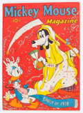 Golden Age (1938-1955):Cartoon Character, Mickey Mouse Magazine V3#4 (K. K. Publications/Western PublishingCo., 1938) Condition: VG....