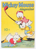Golden Age (1938-1955):Cartoon Character, Mickey Mouse Magazine V4#2 (K. K. Publications/Western PublishingCo., 1938) Condition: VG-....