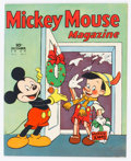 Golden Age (1938-1955):Cartoon Character, Mickey Mouse Magazine V5#3 (K. K. Publications/Western Publishing Co., 1939) Condition: VG/FN....