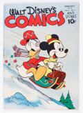 Golden Age (1938-1955):Cartoon Character, Walt Disney's Comics and Stories #41 (Dell, 1944) Condition:VG/FN....