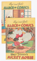 Golden Age (1938-1955):Miscellaneous, March of Comics #27 and 45 Group (K. K. Publications, Inc., 1948-49) Condition: Average FN....