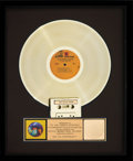Music Memorabilia:Awards, Jimi Hendrix Experience Are You Experienced RIAA Gold Record Sales Award Presented to the Artist (Reprise RS 6261,...