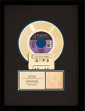 "Music Memorabilia:Awards, Alannah Myles ""Black Velvet"" RIAA Gold Record Sales Award(Atlantic, 7-88742, 1989)...."