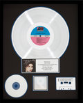 Music Memorabilia:Awards, Alannah Myles RIAA Platinum Record Sales Award (Atlantic81956, 1989)....
