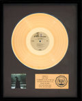 Music Memorabilia:Awards, Neil Young After the Gold Rush RIAA Gold Record Sales Award(Reprise RS 6383, 1970)....