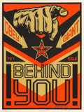Prints:Contemporary, Shepard Fairey (b. 1970). Propoganda, (set of four), 2009.Screenprint in colors. 12 x 9 inches (30.5 x 22.9 cm) (sheet,...