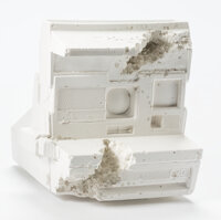 Daniel Arsham (b. 1980) Polaroid (Fr-06), 2008 Plaster with glass fragments 5-1/2 inches (14.0 cm