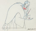 Animation Art:Production Drawing, 101 Dalmatians Cruella De Vil Animation Drawing (WaltDisney, 1961). ...
