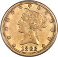 Liberty Eagles, 1882-CC $10 XF45 PCGS. Variety 2-A....