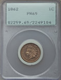 Proof Indian Cents, 1862 1C PR65 PCGS....