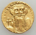 Ancients:Byzantine, Ancients: Constans II (641-668). AV solidus (4.41 gm). Good VF....