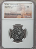 Ancients:Roman Provincial , Ancients: EGYPT. Alexandria. Commodus (AD 177-192). BI tetradrachm. NGC VF....