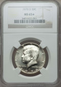Kennedy Half Dollars, 1970-D 50C MS65 ★ NGC. NGC Census: (1591/149 and 18/1*). PCGSPopulation: (3540/554 and 18/1*...