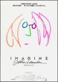 """Movie Posters:Rock and Roll, Imagine: John Lennon (Warner Brothers, 1988). Japanese B2 (20"""" X28.5""""). Rock and Roll.. ..."""