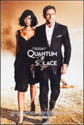"""Movie Posters:James Bond, Quantum of Solace (MGM, 2008). Rolled, Near Mint. One Sheet (27"""" X41"""") DS Advance. James Bond.. ..."""