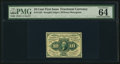Fractional Currency:First Issue, Fr. 1243 10¢ First Issue PMG Choice Uncirculated 64 EPQ.. ...