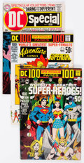 Silver Age (1956-1969):Miscellaneous, DC Silver and Bronze Age Giant-Size Comics Group of 9 (DC, 1960s-70s) Condition: Average FN.... (Total: 9 Comic Books)