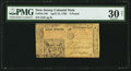 Colonial Notes:New Jersey, New Jersey April 12, 1760 £3 PMG Very Fine 30 Net.. ...