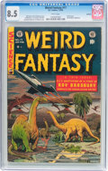Golden Age (1938-1955):Science Fiction, Weird Fantasy #17 Spokane pedigree (EC, 1953) CGC VF+ 8.5 Whitepages....