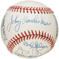 Autographs:Baseballs, No-Hitters Multi-Signed Baseball (14 Signatures). ...