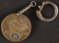 Football Collectibles:Others, 1950 American Legion Department of Wisconsin Green Bay Packers Key Chain Charm. ...
