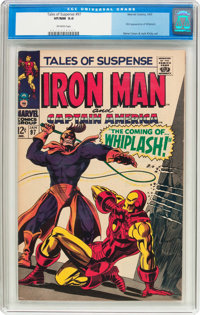 Tales of Suspense #97 (Marvel, 1968) CGC VF/NM 9.0 Off-white pages