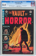 Golden Age (1938-1955):Horror, Vault of Horror #36 (EC, 1954) CGC VF 8.0 Cream to off-whitepages....
