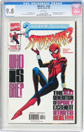 Modern Age (1980-Present):Superhero, What If? #105 (Marvel, 1998) CGC NM/MT 9.8 White pages....