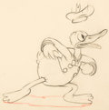 Animation Art:Production Drawing, Donald Duck Production Drawing Animation Art (Disney, c. 1930s)....
