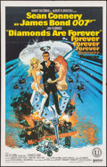 "Movie Posters:James Bond, Diamonds are Forever (United Artist, 1971). Spanish Poster (25.5"" X 40""). James Bond.. ..."