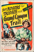 """Movie Posters:Western, Grand Canyon Trail (Republic, 1948). One Sheet (27"""" X 41""""). Western.. ..."""
