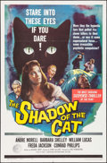 "Movie Posters:Horror, The Shadow of the Cat (Universal International, 1961). One Sheet (27"" X 41""). Horror.. ..."