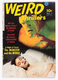 Golden Age (1938-1955):Horror, Weird Thrillers #1 (Ziff-Davis, 1951) Condition: VG-....