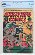 Golden Age (1938-1955):Superhero, Exciting Comics #45 (Nedor/Better/Standard, 1946) CBCS VG 4.0 Off-white to white pages....