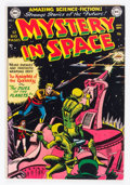Golden Age (1938-1955):Science Fiction, Mystery in Space #3 (DC, 1951) Condition: FN....