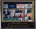 Autographs:Photos, Ted Williams Multi-Signed Photograph - 1993 First Game at City ofPalms Park....