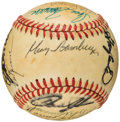 Autographs:Baseballs, New York Mets Greats Multi-Signed Baseball. ...
