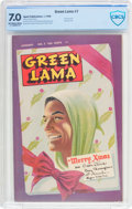 Golden Age (1938-1955):Superhero, Green Lama #7 (Spark Publications, 1946) CBCS FN/VF 7.0 Off-white to white pages....
