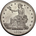 Trade Dollars, 1876-CC T$1 Type Two Reverse AU58 PCGS....