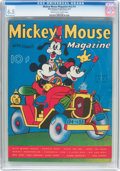 Platinum Age (1897-1937):Miscellaneous, Mickey Mouse Magazine V2#11 (K. K. Publications/Western PublishingCo., 1937) CGC FN+ 6.5 Cream to off-white pages....