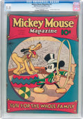 Platinum Age (1897-1937):Miscellaneous, Mickey Mouse Magazine #11 (K. K. Publications/Western PublishingCo., 1936) CGC VG/FN 5.0 Cream to off-white pages....