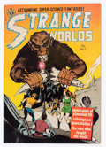 Golden Age (1938-1955):Science Fiction, Strange Worlds #7 (Avon, 1952) Condition: VG/FN....