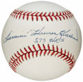"Autographs:Baseballs, Harmon Killebrew Single Signed Baseball with ""573 HR's""Inscription...."
