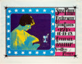 Music Memorabilia:Posters, Steve Miller Band Carousel Ballroom Poster and Handbill And ProofSigned By Alton Kelley (1968). ...