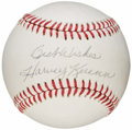 Autographs:Baseballs, Harvey Kuenn Single Signed Baseball. ...