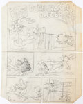 Original Comic Art:Miscellaneous, Harvey Eisenberg Tom and Jerry Comic Book Page PreliminaryOriginal Art Group of 6 (Gold Key, c. 1960s). ... (Total: 6Original Art)